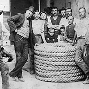 Foto storiche lavoratori artigiani a Figline Valdarno